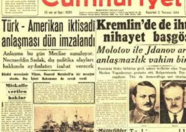 1945- 1960 DÖNEMİ TÜRKİYE EKONOMİSİ