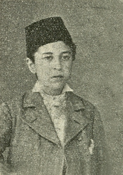 Halid Ziya 12 yaşında