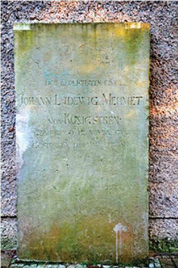 Johann Ludewig Mehmet von Königstreu (1709–1775)