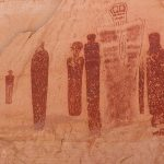 Ekibimizi Büyük Galeri, Canyonlands Milli Parkı, At Nalı Kanyon , Utah , c. 1500 MÖ